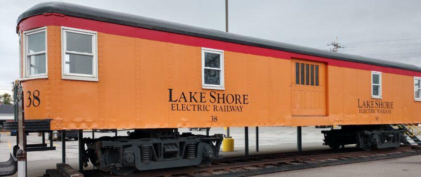 Avon Lake trolley